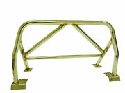 Obx Stainless Roll Bar W/bar Padding Cushion For 99-09 Honda S2000 Acing