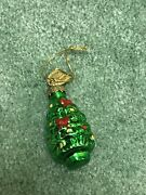 Thomas Pacconi Advent Calendar Replacement Glass Ornament Day 11 Christmas Tree