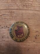 Early Day Gas Engine And Tractor Association Inc. Member Pinback Button Old