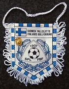 Pennant Soccer Finland National Team From The Match Israel Vs Finland Nov 1995