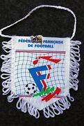 Pennant And Pin Soccer France National Team From Match Israel Vs France Mar 1995