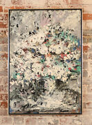 Harold Frank -untitled Abstract -original 1964 Oil Painting