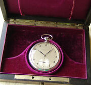 Rare Wwii Period For Georg Fischer Ag Good Condition Pocket Watch C1942