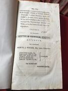 1803-1811 The General Assembly Of The State Of Rhode Island Antique Law Book