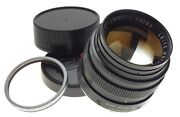 Leica Summilux 11.4/50mm Chrome Silver Lens Filter Fast Glass Fits M10-p F=50mm
