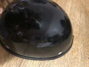 Harley Davidson Half Shell Helmet..sz Large Without Stickers