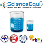 Glass Beakers Graduated Borosilicate 3.3 Low Form Various Size Lowest Price Kits