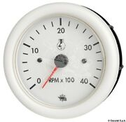 Guardian Rpm Counter Diesel White With Hourmeter 24 V