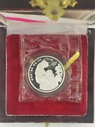 Chinese 1998 Year Of Tiger 10 Yuan Pr Reduced Size 8000 Mintage Silver Coin