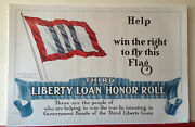 Original Wwi 3rd Liberty Loan Help Win The Right To Fly The Flag 1918 Poster Ww1