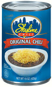 Skyline Original Chili Recipe 15-ounce Cans Pack Of 12