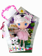 """Lalaloopsy Cloud E. Sky Doll 12"""" Angel Halo + Pet Poodle And Poster Full Size New"""