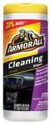 Armor All Vinyl Leather And Rubber Cleaning Wipes 30 Wipes Car Interior Cleaner
