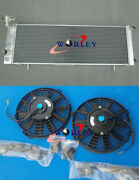 3 Core Aluminum Radiator And Fans For Jeep Cherokee Xj 2.5 4.0 1991-2001 1992 93