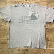 Vintage 90and039s The Charlie Daniels Band Decade Of Hits 1991 Tour T-shirt Large