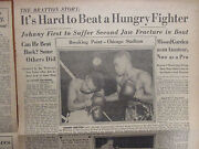 1950 The All-sports News/sporting News Insertjohnny Bratton/don Laz/red Strader