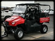 Big Red Honda Back Seat And Roll Cage Kit