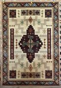 Southwest Native American Navajo Country Western Rustic Lodge Area Rugs Carpets