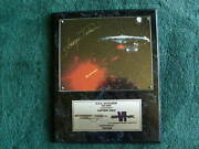 George Takei  Authenticated  Autographed  Wall Plaque  122 / 2500
