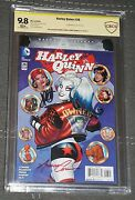 Cbcs 9.8 Harley Quinn 26 Amanda Conner And Jimmy Palmiotti Signed 1st Red Tool