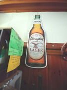 D L Yuengling 180th Anniversary Metal Sign Signed And Dated By Dick Yuengling