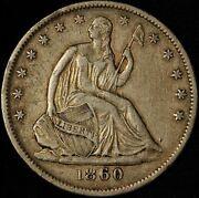 1860-o 50c Seated Liberty Half Dollar - New Orleans Mint - Free Shipping Usa