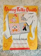 Vintage 1960 Young Folks Quilt Patterns Book Makes 10 Complete Quilts Kate March