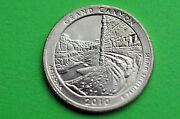 2010-p Bu Mint Stategrand Canyon Us National Park Quarter Coin