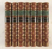 Works Of Charles Lamb Tales From Shakespeare Antique 3/4 Red Leather Bound Books