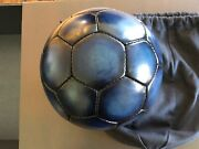 Berluti Paris Navy Blue Soccer Ball Rare Collectible Item Brand New Sold Out