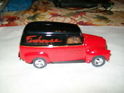 Ertl 9369 Firehouse Films Durona 1950 Chevy Panel 1/25 Scale Diecast Bank