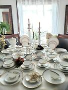 Elegance Gold Trim By Rosenthal Continental - 98 Pc Lot Discontinued Rare Find