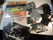 Link Wray Signed Records Photo Rumble Jack The Ripper Bullshot Yesterday-today++