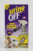 Urine Off Find It Treat It Sprayer Combo Pack Led Finder Carpet Applicator Cap