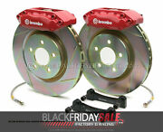 Brembo Gt Bbk 2pot Rear For 2008-2014 Wrx And 2010-2014 Legacy 2.5i 2e5.5002a2