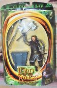 Gimli, Lord Of The Rings 7action Figur Withbattle Axe Swining Action Ships Free