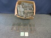 166 O-scale Electric Train Track 3-rail Marx Lionel Curved Straight Vintage