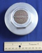 Vintage Car Hubcap Marmon Original Silver Gold Dust Grease Cover Part Accessory