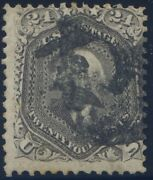 78 With Union Soldier Fancy Cancel With Pse Certificate Cert. 01263952