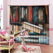 House Of Gold In Book 3d Curtain Blockout Photo Printing Curtains Drape Fabric