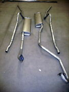 1949-1951 Mercury Hardtop Dual Conversion 304 Stainless Exhaust System