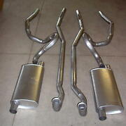 1970-1971 Pontiac Gto, Lemans And Tempest Dual Exhaust System, 304 Stainless
