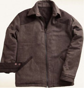 1816 By Remington Menand039s The Over Under Reversible Jacket- Brown Size 2xl