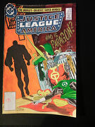 Dc Justice League America 224 Cover Color Guide Production Art Signed W/ Coa