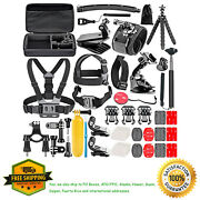 Neewer 50-in-1 Action Camera Accessory Kit For Gopro Hero Session/5 Hero 1 2 3 3