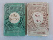 Lot Of 2 J. R. R. Tolkien The Two Towers And The Return Of The King 7th Printings