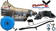 Turbo 400 Th400 Transmission Conversion Kit Stage3 High Stall Converter W/fluid