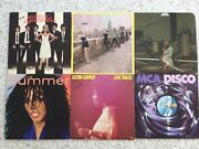 """6 Collectable Oldies Records Vinyl 33 1/3 Rpm 12"""" By Various Artists Stereo"""