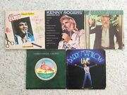 """5 Collectable Oldies Records Vinyl 33 1/3 Rpm 12"""" By Various Artists Stereo"""