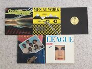 """5 Collectable Oldies Records Vinyl 33 1/3 Rpm 12"""" By Various Artists"""